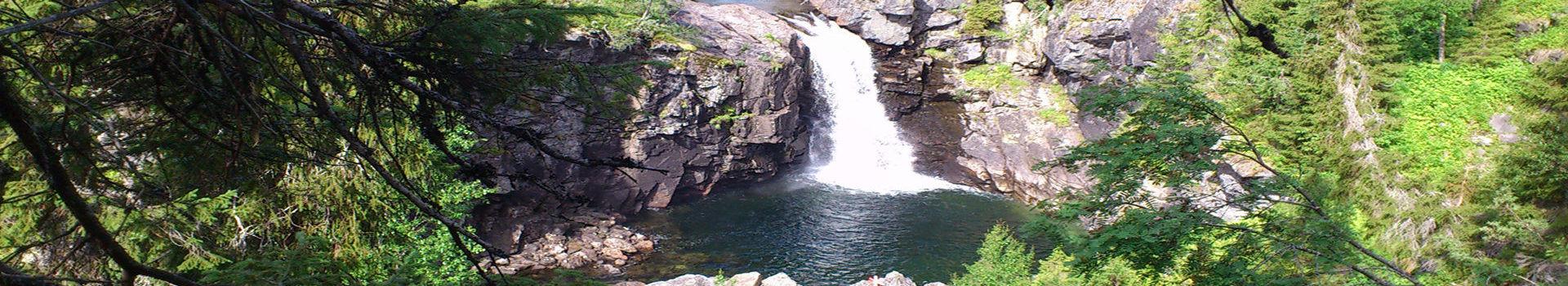 Vattenfall Sutme i Borgafjäll