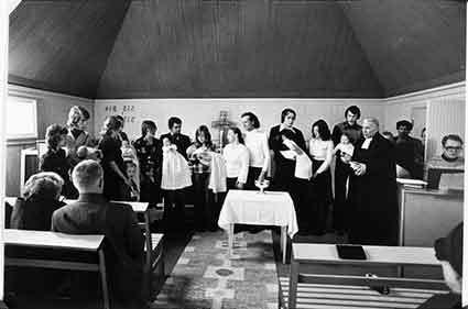 Dop i Avasjö kapell, Borgafjäll