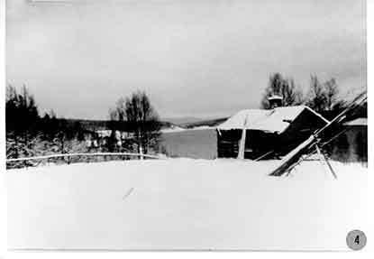 Malin Tangas stuga i Borgafjäll