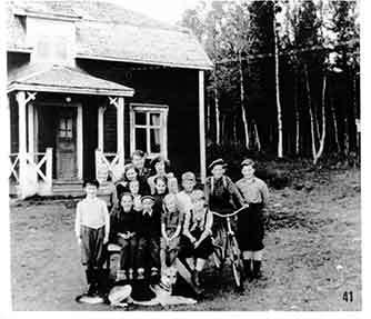 Skola i Avasjö, Borgafjäll
