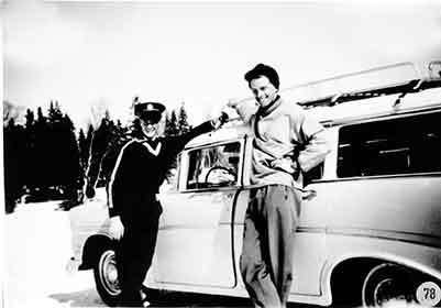 Taxi i Borgafjäll