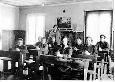 Skolgång i Borgafjäll