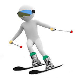Slalom i Borgafjäll
